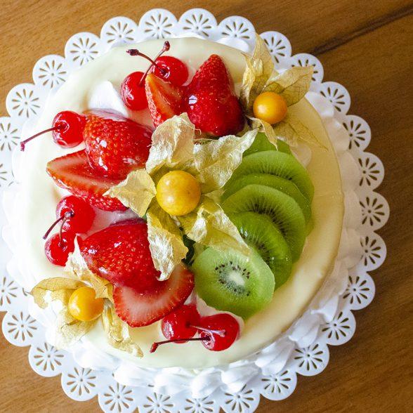 Torta Morango e Kiwi